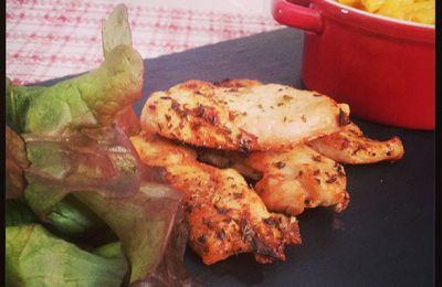 Recette poulet Cajun et mac'n cheese