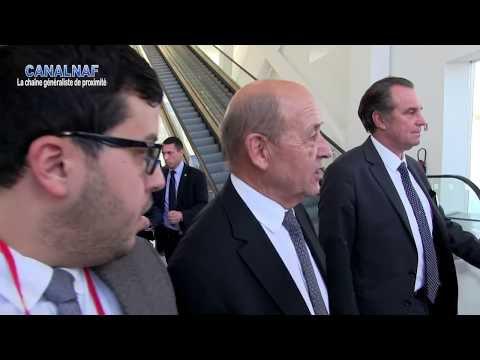 Jean-Yves le Drian au sujet de la visite de Macron en Afrique
