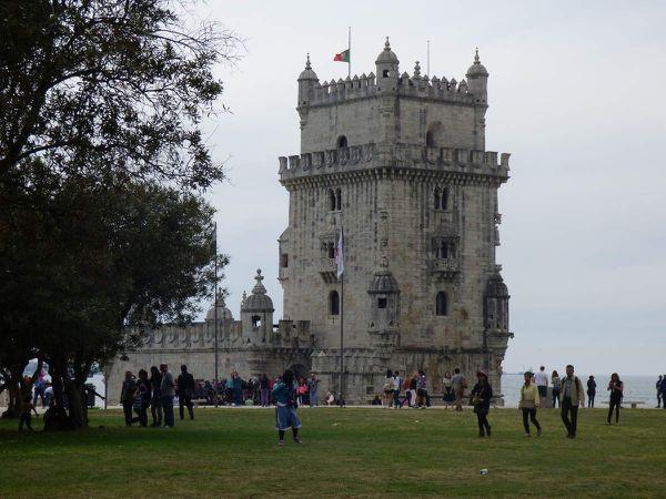 La tour de Belém, le Pont du 25 avril