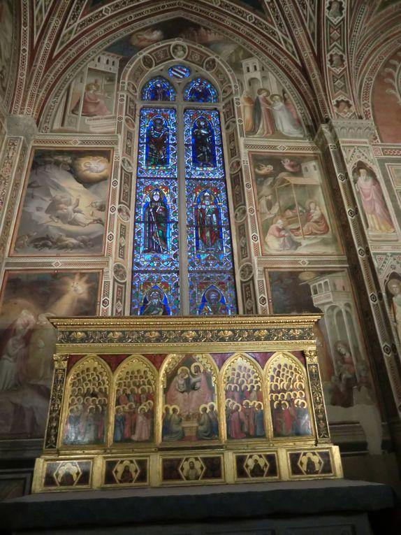 Le palazzo Vecchio, Santa Maria Novella, Santaa Maria del Carmine, basilique annunziata.