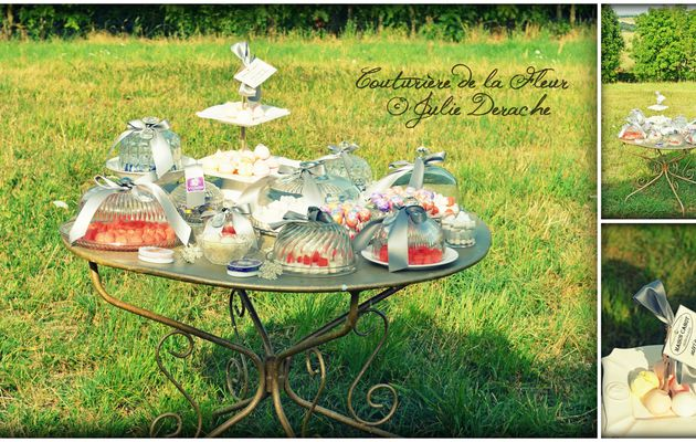 Candy Bar   Mariage thème Campagne Chic   Fleuriste mariage Montpellier