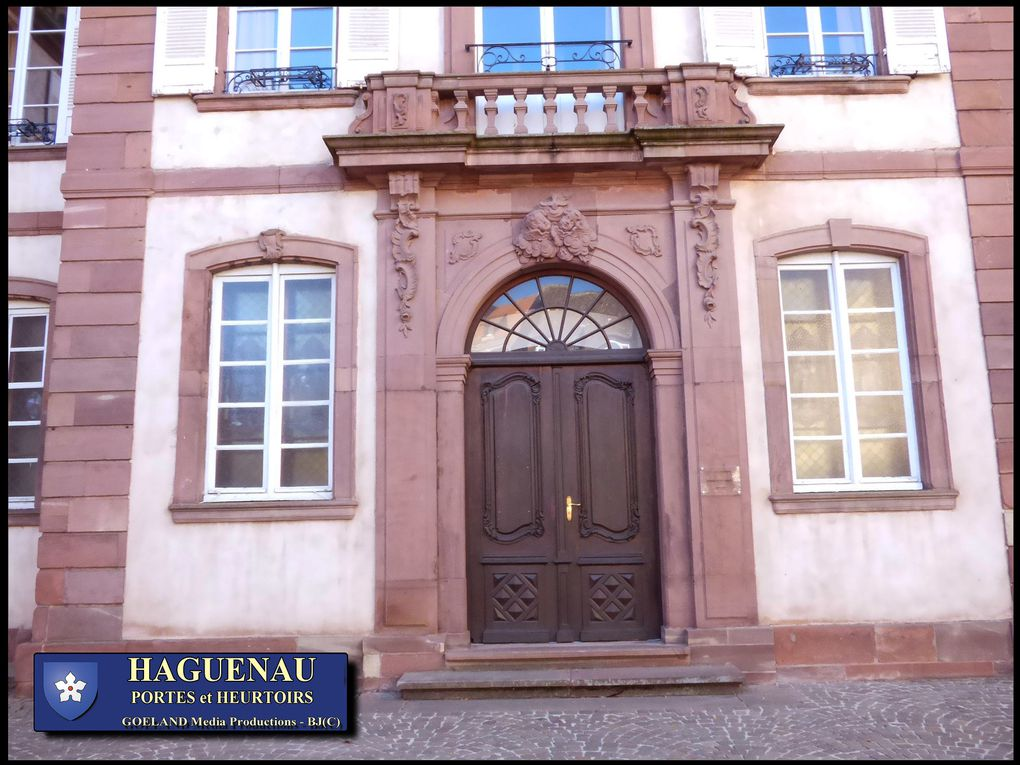 HAGUENAU ville éprise de liberté , ancienne membre de la république de la DECAPOLE, ( Alsace )