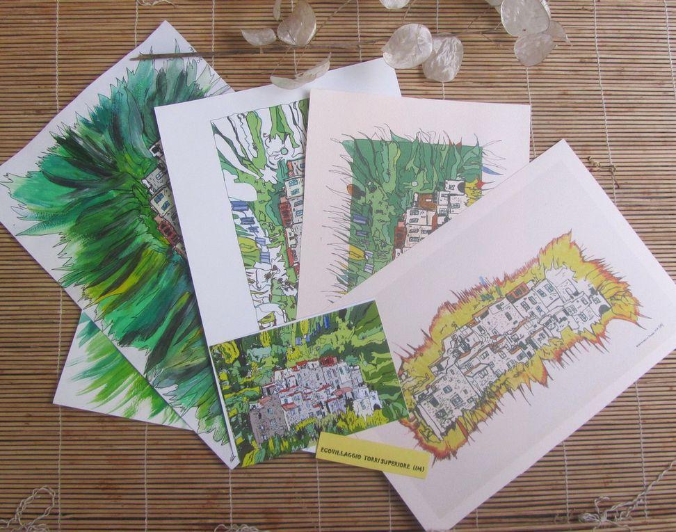 Cartoline di Genova e dintorni