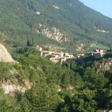 Saint Benoit en Diois, Vallée de la Roanne
