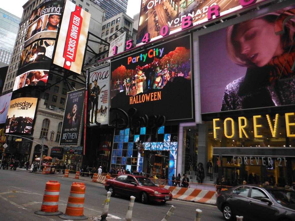 NEW YORK: autour de Times Square
