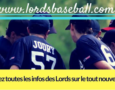 Nouveau site pour les Lords :D