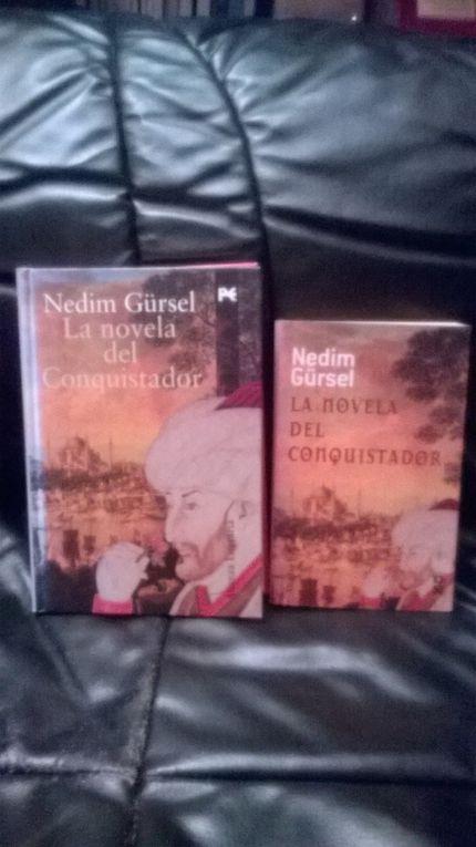 Diaporama des 6 livres publiés en Espagne