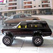 236-F JEEP CHEROKEE REHAUSSE 1994 MAJORETTE 1/64. - car-collector.net: collection voitures miniatures