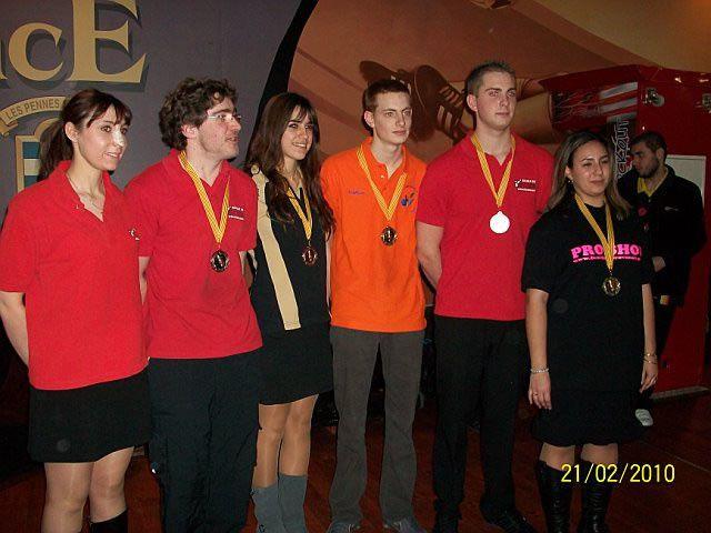 Criterium jeunes à Plan de Campagne  21/02/2010
