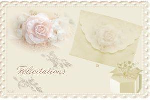 Carte à imprimer ~félicitation~