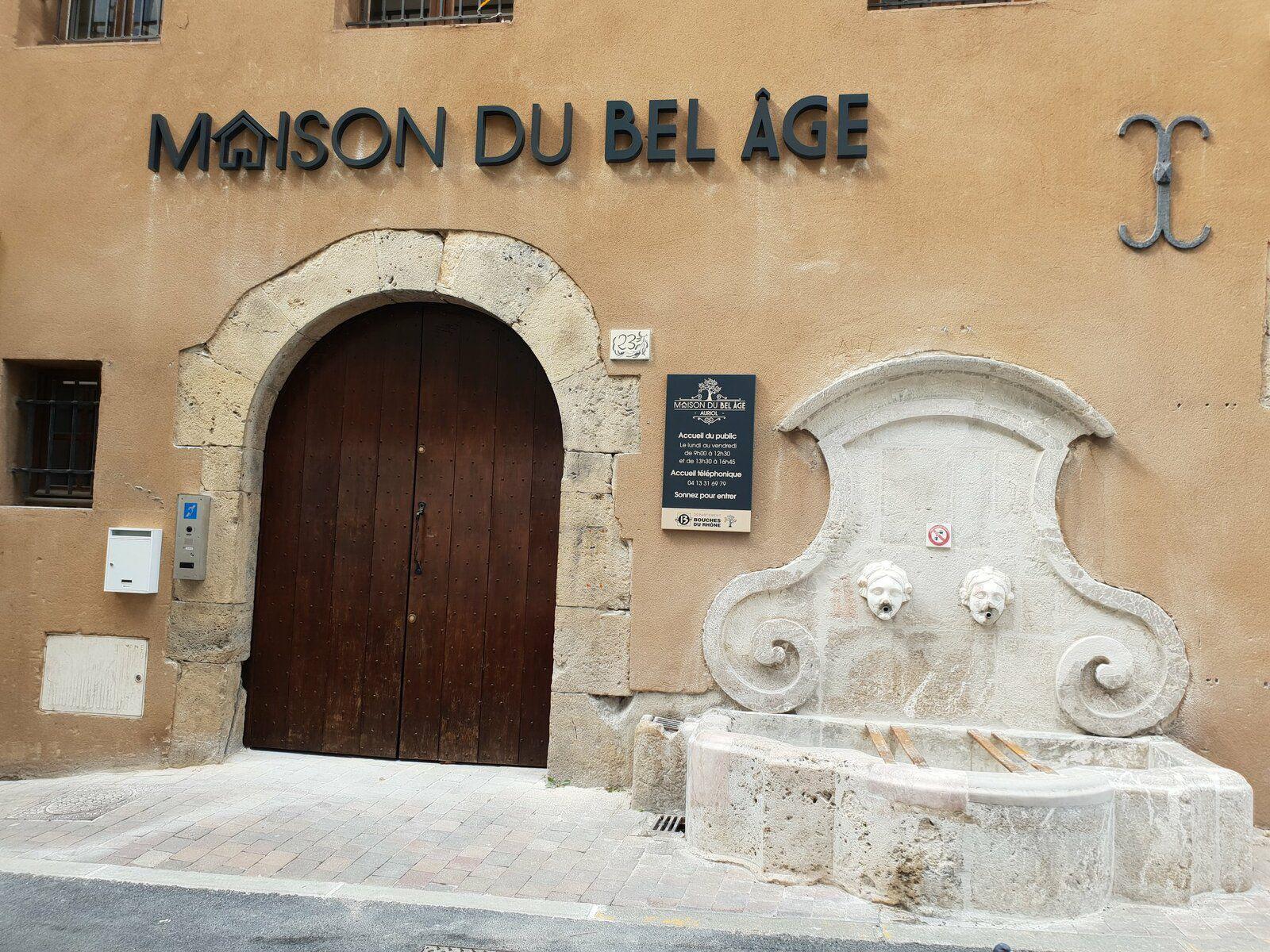 OUVERTURE DE LA MAISON DU BEL AGE