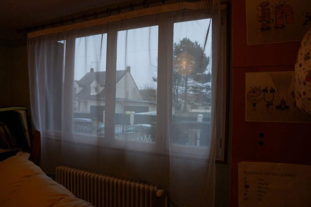Mon projet de changement de fenêtres