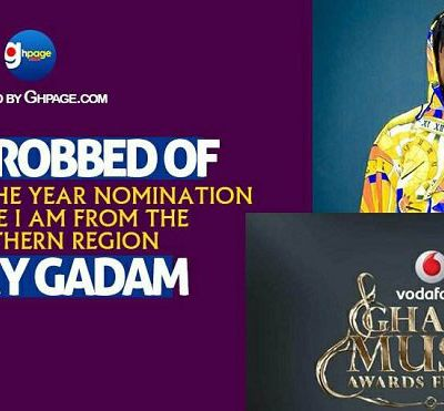 """E-NEWS::I Was Robbed Of Artist Of The Year Nomination Because I Am From The Northern Region""""- Fancy Gadam//www.gbaagamusic.com"""