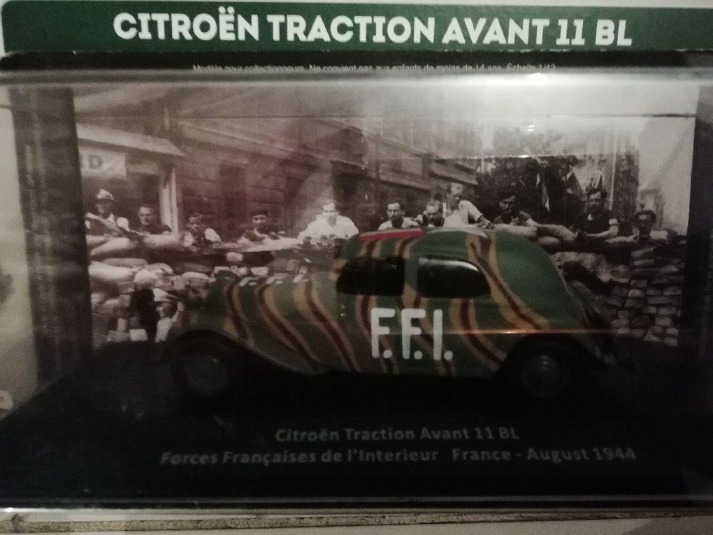 Diaporama : Traction-Avant FFI au 1/43 (5 photos Xavier D.  pour Milinfo)