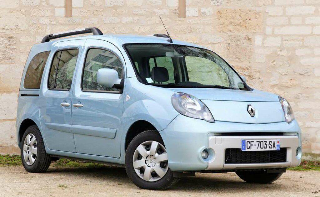 Les ludospaces type Renault Kangoo suivent la même tendance.