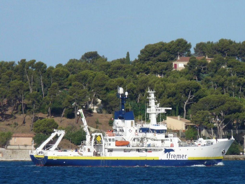 LE SUROIT , Navire de recherche océanographique de l'IFREMER