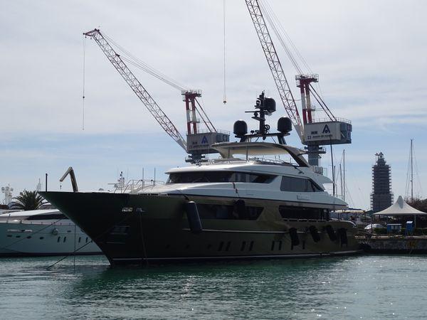 Dans le port de Livorno