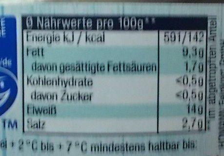 Homann Bismarckhering mit Zwiebeln & Senf