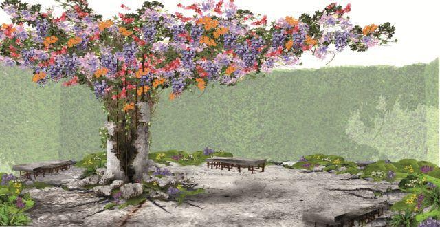 FLOWER POWER / LE POUVOIR DES FLEURS, thème 2017 du Festival international des jardins de Chaumont-sur-Loire