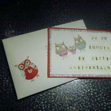 carte anniversaire Sabine!!!!