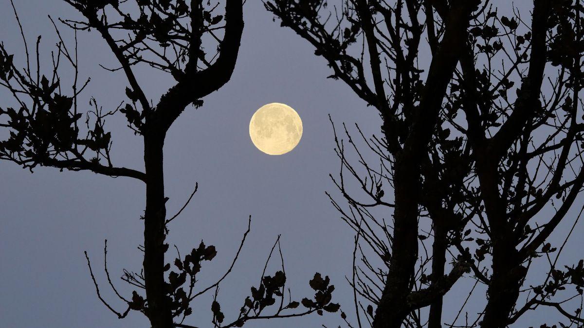 Lors de la dernière pleine lune
