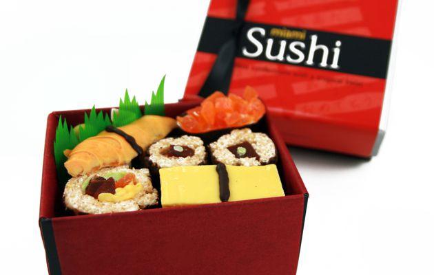 Sushi sucré par Romanicos Chocolate