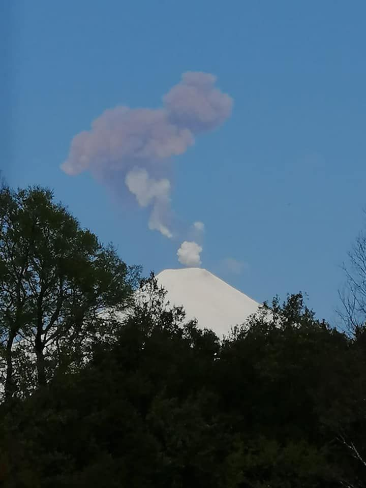 Villarica - 25.09.2020 - photo via Volcanologia en Chile