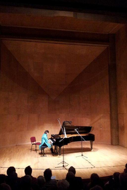Concert du 15 janvier Salle Cortot par Dana Ciocarlie, piano et Jane Peters, violon (DR : Stéphane Godet)