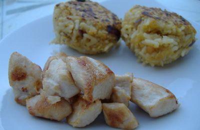 Boulettes de Lentilles Corail au Riz