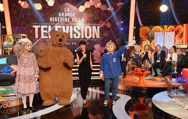 La grande histoire de la télévision le vendredi 8 janvier sur TF1