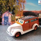 37 FORD WOODIE HOT WHEELS 1/64 - FORD 1937 - car-collector.net