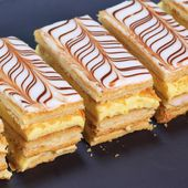 Mille-feuille traditionnel maison
