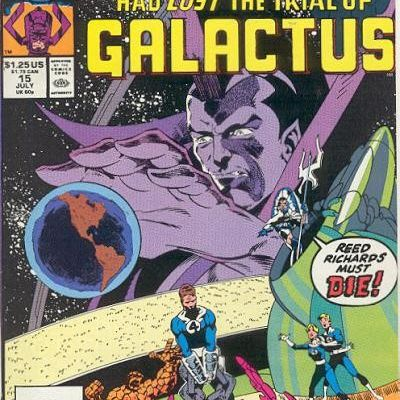 What if…the Fantastic four had lost the trial of Galactus ? (Roy Thomas, Greg Capello)