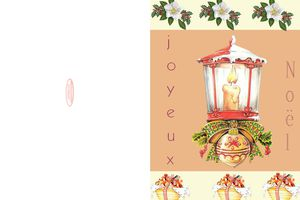 Cartes à imprimer ~Joyeux noël~