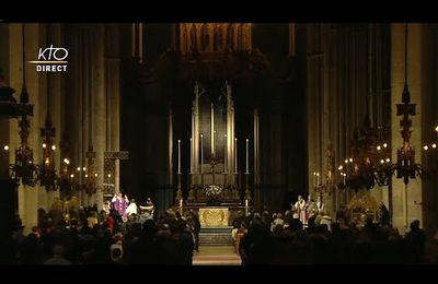 Messe pour la France - Reims - Chapelet du 30 octobre 2020 à Lourdes