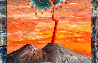 Art on the way of fire - Vesuvius ... and the pandemic.