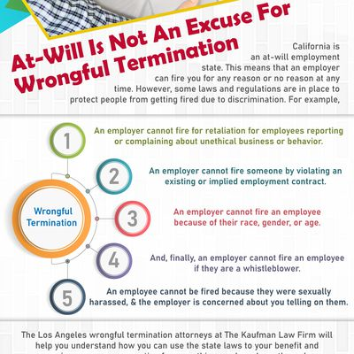 At-Will Is Not An Excuse For Wrongful Termination