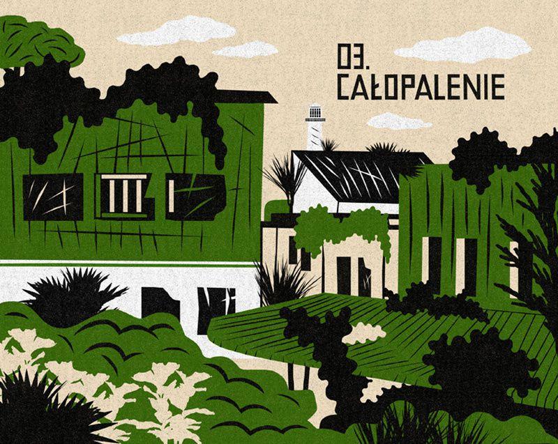Illustrations de Patryk Mogilnicki pour l'édition polonaise