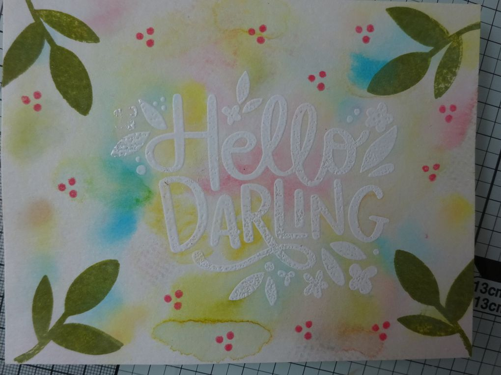 [Simon Says stamp] Hello Darling: 8 exemples de carte