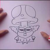 Como dibujar a Trufa paso a paso - Chowder   How to draw Truffle - Chowder
