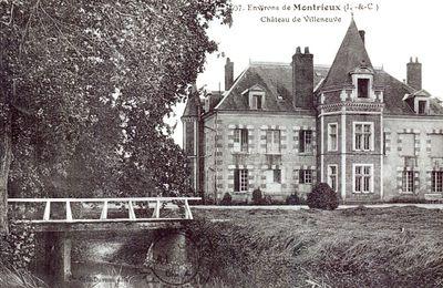 Montrieux en Sologne : Villeneuve.