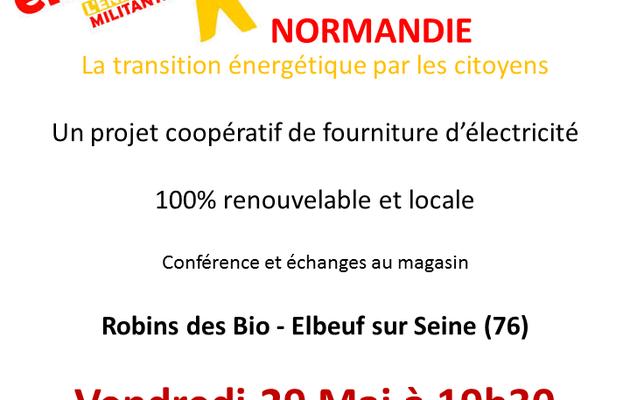 vendredi 29 mai : conference Enercoop, energie solidaire et propre
