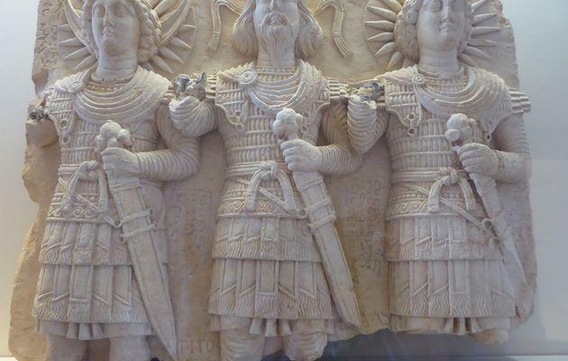Antiquités orientales au Louvre (Palmyre).