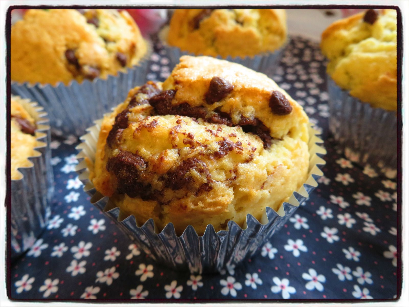 muffins chocolat nutella