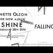 """Anette Olzon """"Falling"""" Official Lyric Video - The new album """"SHINE"""" OUT FEBRUARY 28th 2014"""