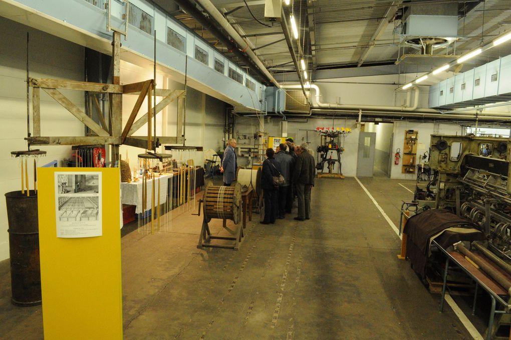 Visite du futur Musée de la Bonneterie à ROMILLY SUR SEINE en date du 12 Octobre 2013.