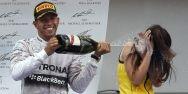 Hamilton fue el más veloz de todos en el Gran Premio de España