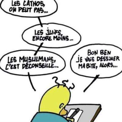 L'angoisse du dessinateur humoristique...