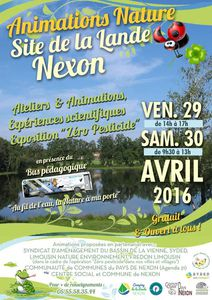 Animations Nature - Nexon - Ven. 29 & Sam. 30 Avril