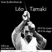 Léo Tamaki à Soignies, 23 et 24 février